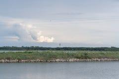 Ταξίδι στην του δέλτα Po del χώρα ποταμών Στοκ Εικόνες