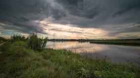 Ταξίδι στην του δέλτα Po del χώρα ποταμών Στοκ φωτογραφία με δικαίωμα ελεύθερης χρήσης