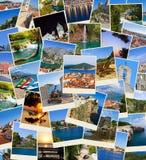 ταξίδι στοιβών φωτογραφιών της Κροατίας Στοκ εικόνες με δικαίωμα ελεύθερης χρήσης