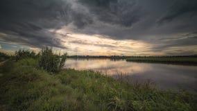 Ταξίδι στον του δέλτα Po ποταμό, Ιταλία Στοκ Εικόνες