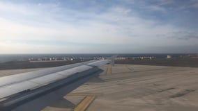 Ταξίδι στο αεροπλάνο απόθεμα βίντεο