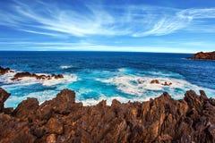 Ταξίδι στο μυθικό νησί της Μαδέρας στοκ εικόνες με δικαίωμα ελεύθερης χρήσης