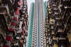 Ταξίδι στο Χονγκ Κονγκ οικοδόμηση θαυμάσια στοκ φωτογραφία με δικαίωμα ελεύθερης χρήσης
