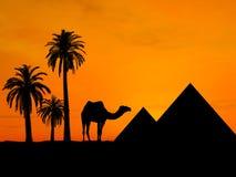 ταξίδι της Αιγύπτου Στοκ Εικόνες