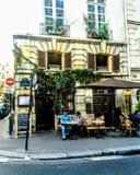 Ταξίδι του Παρισιού Bistro στοκ φωτογραφίες