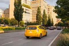 ταξί αμαξιών nyc στοκ εικόνα