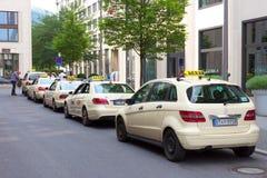 Ταξί Βερολίνο Στοκ φωτογραφία με δικαίωμα ελεύθερης χρήσης