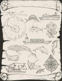 Ταξίδια βαρκών, Ανταρκτική Στοκ εικόνα με δικαίωμα ελεύθερης χρήσης