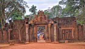 Ταξίδια Wat Angkor Στοκ Φωτογραφίες