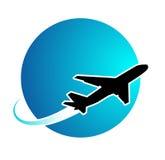 Ταξίδι αεροπλάνων Στοκ φωτογραφία με δικαίωμα ελεύθερης χρήσης