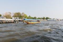Ταξίδι βαρκών στον ποταμό Chao Phraya Στοκ φωτογραφία με δικαίωμα ελεύθερης χρήσης