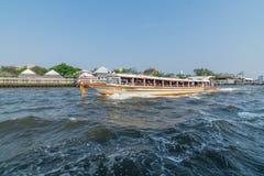 Ταξίδι βαρκών στον ποταμό Chao Phraya Στοκ εικόνες με δικαίωμα ελεύθερης χρήσης