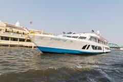 Ταξίδι βαρκών στον ποταμό Chao Phraya Στοκ Φωτογραφίες