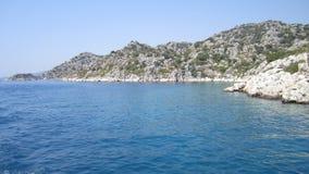 ταξίδι θάλασσας άλματος Τουρκία Στοκ Φωτογραφία