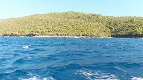 Ταξίδι θάλασσας στην Τουρκία απόθεμα βίντεο