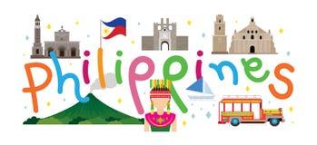 Ταξίδι και έλξη των Φιλιππινών Στοκ Φωτογραφία