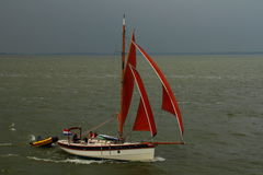 Ταξίδι και τρόπος ζωής Lemmer στις Κάτω Χώρες Στοκ Εικόνες