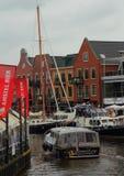 Ταξίδι και τρόπος ζωής Lemmer στις Κάτω Χώρες Στοκ εικόνα με δικαίωμα ελεύθερης χρήσης