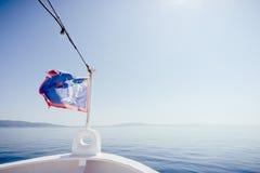 Ταξίδι μέσω της θάλασσας Στοκ φωτογραφία με δικαίωμα ελεύθερης χρήσης