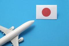 Ταξίδι με το αεροπλάνο στην Ιαπωνία Στοκ Εικόνες