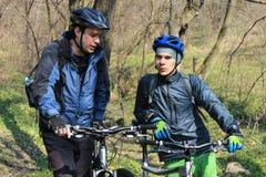 Ταξίδι με το ποδήλατο Στοκ φωτογραφία με δικαίωμα ελεύθερης χρήσης