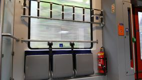 Ταξίδι με το τραίνο Στοκ εικόνα με δικαίωμα ελεύθερης χρήσης