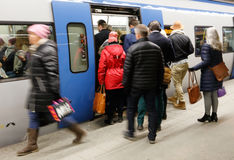 Ταξίδι με το τραίνο Στοκ Εικόνες