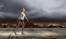Ταξίδι πεζοπορίας Στοκ φωτογραφία με δικαίωμα ελεύθερης χρήσης