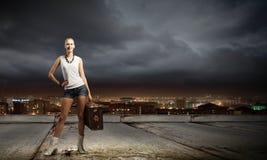Ταξίδι πεζοπορίας Στοκ εικόνα με δικαίωμα ελεύθερης χρήσης