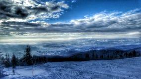 Ταξίδι σκι Στοκ Εικόνες