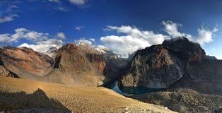 Ταξίδι στα βουνά Fann Στοκ Εικόνα