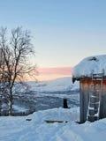 Ταξίδι στην καμπίνα Στοκ φωτογραφία με δικαίωμα ελεύθερης χρήσης