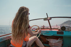 Ταξίδι στη βάρκα Στοκ εικόνα με δικαίωμα ελεύθερης χρήσης