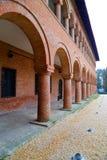 Ταξίδι στη Ρουμανία: Εσωτερικό παλάτι Mogosoaia Στοκ εικόνες με δικαίωμα ελεύθερης χρήσης