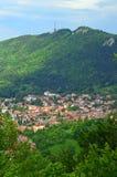 Ταξίδι στη Ρουμανία: Brasov και Hill της Τάμπα Στοκ εικόνα με δικαίωμα ελεύθερης χρήσης
