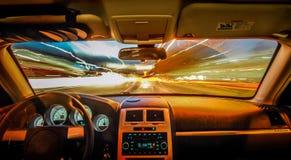 Ταξίδι στη ταχύτητα του φωτός Στοκ φωτογραφία με δικαίωμα ελεύθερης χρήσης