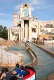 Ταξίδι στον αγωγό ύδατος κούτσουρων Atlantis στοκ φωτογραφία με δικαίωμα ελεύθερης χρήσης