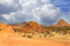 Ταξίδι στους αμμόλοφους άμμου στοκ φωτογραφία με δικαίωμα ελεύθερης χρήσης
