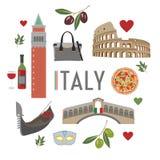 Ταξίδι 1 της Ιταλίας Στοκ Εικόνες