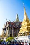 Ταξίδι τουριστών στο phra wat kaew στοκ εικόνες