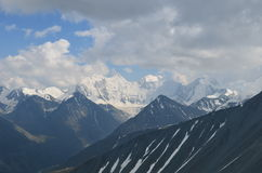 Ταξίδι Altay στα βουνά στοκ εικόνες με δικαίωμα ελεύθερης χρήσης