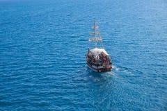 Ταξίδι Antalya yatch Στοκ φωτογραφία με δικαίωμα ελεύθερης χρήσης