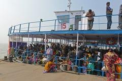 Ταξίδι Gangasagar στοκ φωτογραφίες