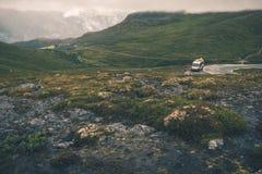 Ταξίδι rv σε Σκανδιναβία Στοκ Εικόνες