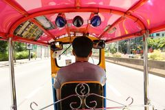 Ταξί Μπανγκόκ Ταϊλάνδη Tuk Tuk στοκ φωτογραφίες