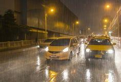Ταξί Μπανγκόκ Στοκ Φωτογραφία