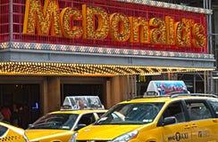 Ταξί Νέα Υόρκη Στοκ Φωτογραφία