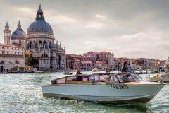 Ταξί νερού της Βενετίας Στοκ Εικόνες