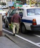ταξί οδηγιών Στοκ Εικόνες