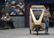 ταξί ποδηλάτων Στοκ εικόνες με δικαίωμα ελεύθερης χρήσης